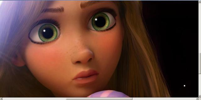 The beauty that is Rapunzel.