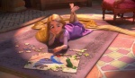 BLUE RAY pic-CLICK TO ENLARGE....Wh wouldn't LOVE to help Rapunzel with the puzzle?
