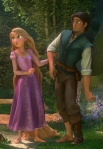 Nice full lenght pic of Rapunzel and Flynn.