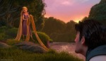 The sunset is almost as lovely as Rapunzel