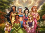 Rapunzel takes her place among the Disney princesses