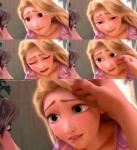 Montage of Rapunzel images