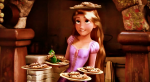 There's no contest as to who is sweeter RAPUNZEL or her pies!