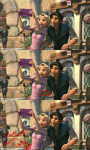 Fan attempt to prove Flynn is sneaking a feel on Rapunzel's lower back.